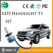 T1 Bulb lightening headlight accessories kit car bulb canbus spot lights 35W 40W 4000LM 6000K H1 H3 H4 H7 H8 H11 9005 for car