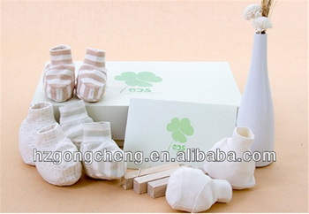 multi colors 100% organic cotton baby products including bib hat foot clothes,wholesale china kids shoes