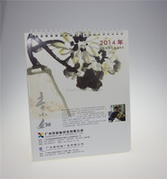 Chinese factory audit manufacturer's printable paper desk calendars