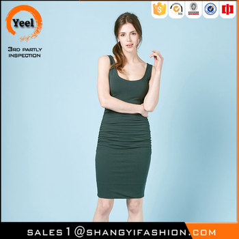 YEEL hot sale popular fashion Breathable Soft cotton latest net dress designs
