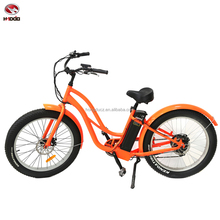 Beach style 500W fat tire muse electric bike throttle control bicycle lcd display e-bike with pedal