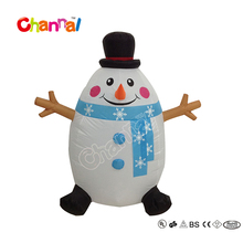 120cm Snowman Outhouse Christmas Inflatable Decoration for Holiday Party