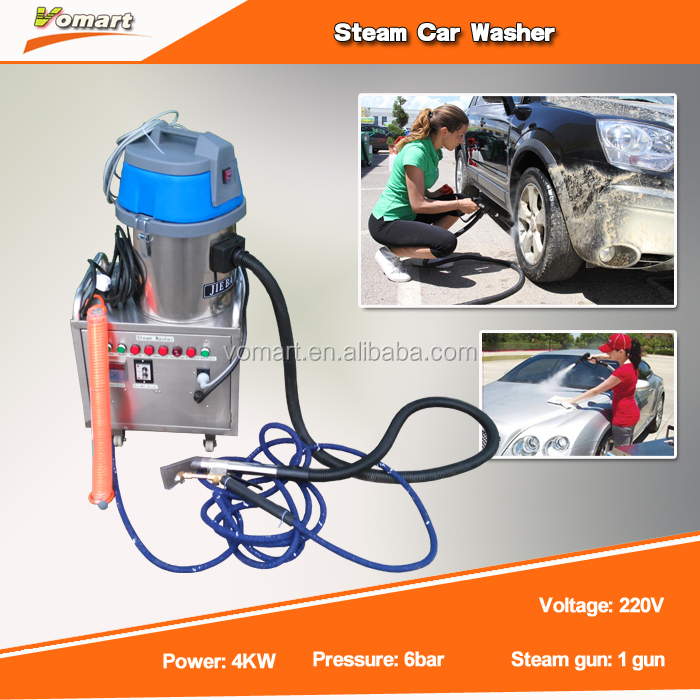 4KW 6Bar steam car wash machine for car/steam carpet steam cleaning machine
