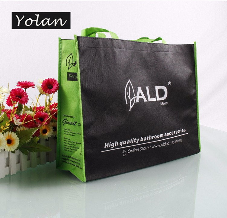 Yiwu great non woven promotion bag laminated non woven bag wholesale