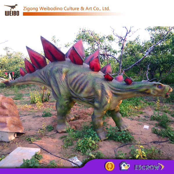 Outdoor Playground Equipment Life Size Robotic Dinosaur