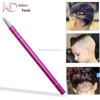 Hairdressing shaving and design Stainless Steel pen razor hair for Styling