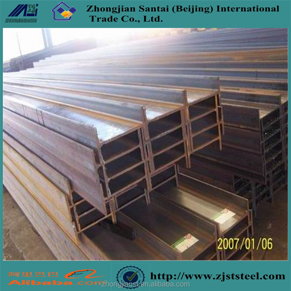 Q345 Hot Rolled Steel H Beam Weight in Malaysia for Structure H Beam Drilling