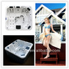 2013 Relax Hot Sale Air Jet Bubble Massage Bathtub adult portable bathtub