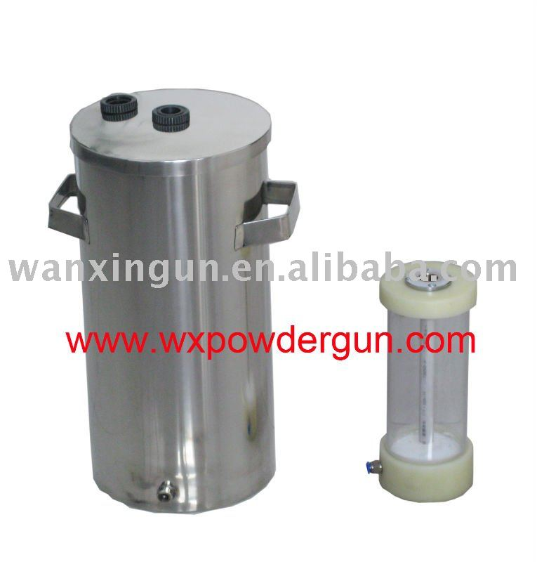WX small powder coating hopper
