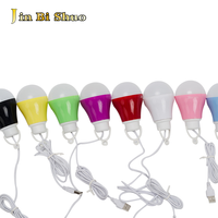 china suppliers red blue yellow green pink white purple black colors USB 12v dc led light bulb