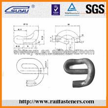 ISO9001 e clips fasteners manufacturer