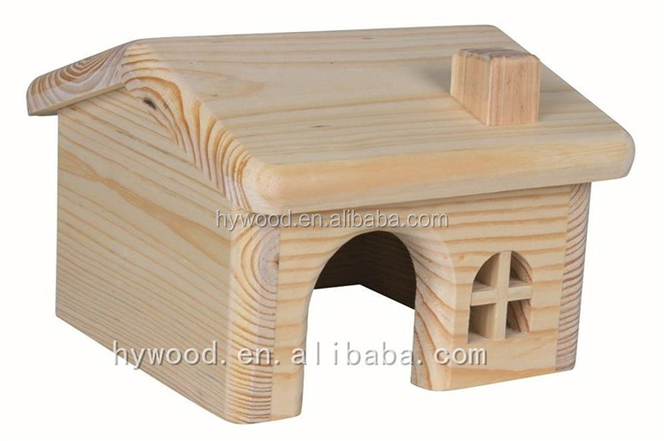 custom small wooden cottage for rabbits pet small animal hamsters gerbils