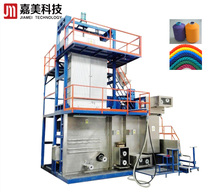 Drawing spinning extruder extruding machine multifilament pp fdy yarn machine