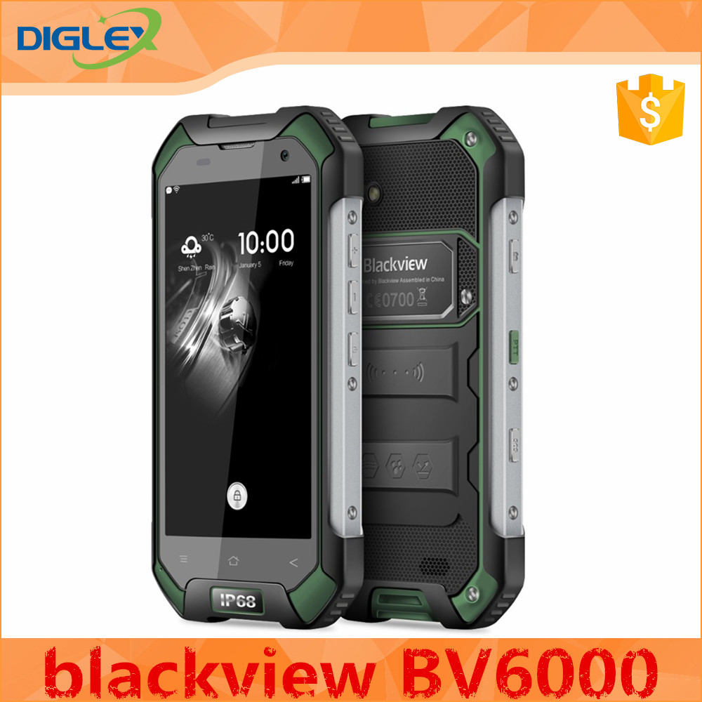 2017 New design blackview bv6000 phone made in China blackview phone cellphone
