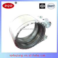 Good Supplier F Type Pipe Repair Clamp for Europea SS304 Approval