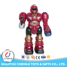 Intelligent plastic toy electric talking robot humanoids for kids