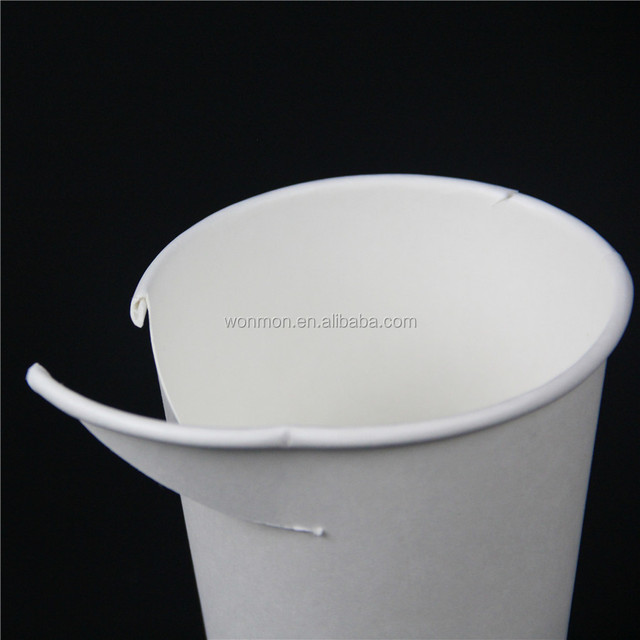 Disposable Biodegradable Paper Cup PLA Insulated Coffee Paper Cup