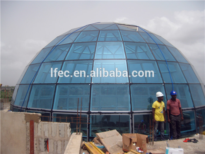Customized Size Steel Space Frame Roofing For Church Building