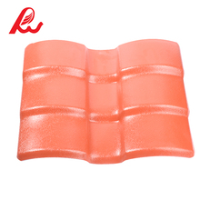 Cheap Construction Synthetic Resin/ASA Spanish PVC Roof Tile