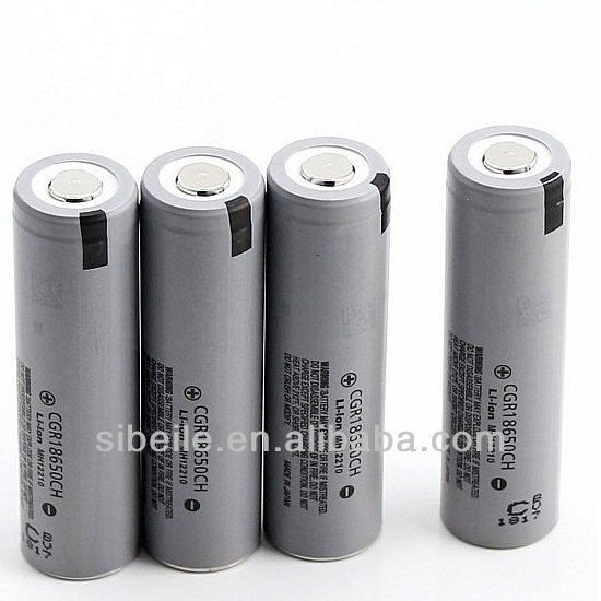 26650/18650 panasonic li-ion battery CGR18650CH 3.7v 2250mAh panasonic 18650 lithium battery