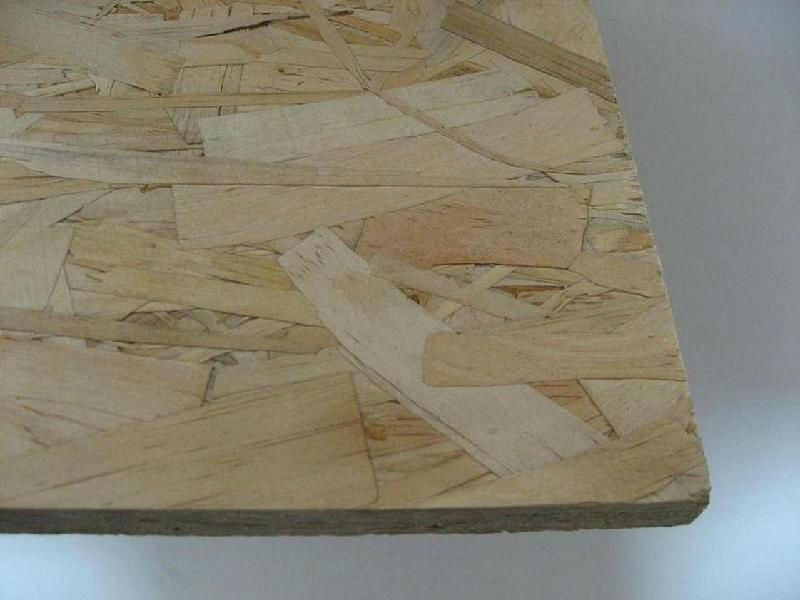 melamine OSB board /melamine laminated osb board for furniture