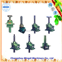 SWL Worm Screw Jack Lifting Agriculture Tansmission Gear box Parts used for industrial sewing machine