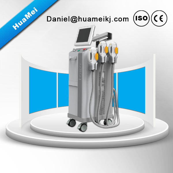 Beauty parlours equipment -IPL+RF+E-light+ND YAG LASER