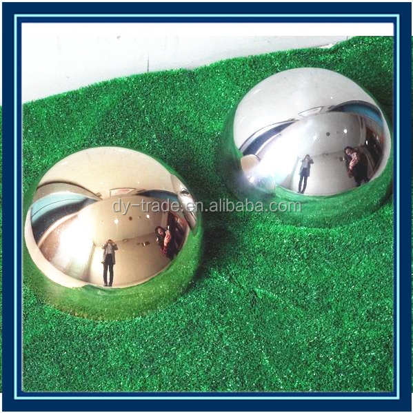 high quality aluminum ball / aluminum metal half ball
