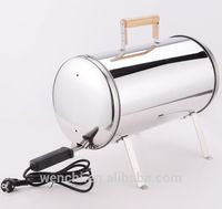 household electric smokeless mini barbecue grill,stainless steel electric smokeless bbq grill