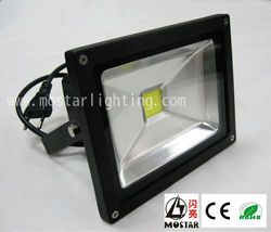 CE Rohs 20w led flood light superior quality IP65 Cob led flood ztl