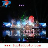 Stable Outdoor commercial P16 led screen for advertisement