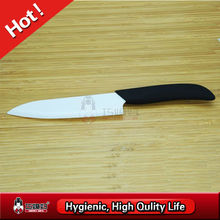 Eco-friendly ceramic chef knife with black handle