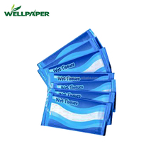 Alcohol Free and skin Type restaurant spunlace wet tissue