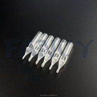 Hot Sale Plastic Disposable Tattoo Needle Tips - Angled Round