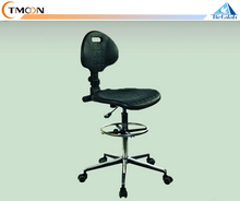 High Quality Adjustable Height Stainless Steal School Lab Chair with Foot Rest