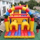 Giant colorful children inflatable slide for outdoor activities
