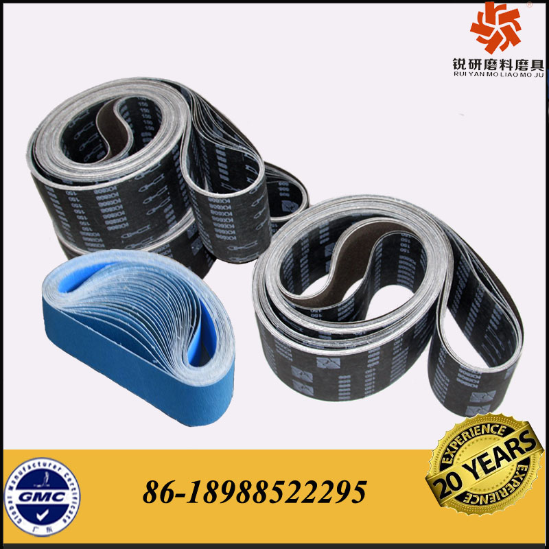 Sharp Silicon Carbide Abrasive Belts for Stone