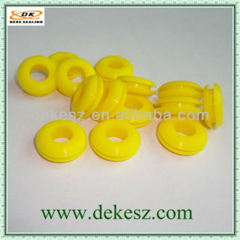 High quality good price yellow silicone rubber cable grommets,Factory,ISO9001