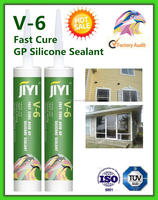 acetic cure 100% silicone sealant V6 multi-purpose especially for construction