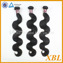 XBL brazilian body wave permed hair extension