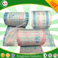Back sheet film for pampering adult diapers for adults