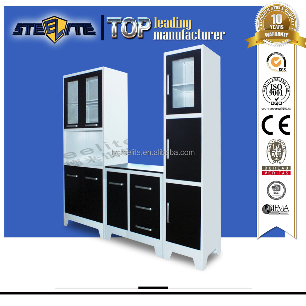 factory price kitchen furniture set ready to assemble kitchen cabinets