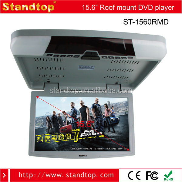 15.6 Inch Roof Mounted Car Monitor/mp5/dvd Player