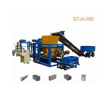 QT4-25D Concrete Curb And Gutter Brick Stone Paving Force Wire Making Machine South Africa
