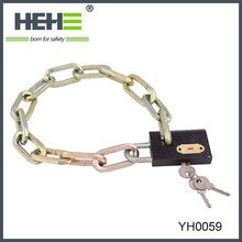 2015 High quality and factory directly sell price bike chain lock