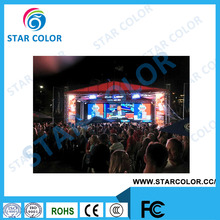 High Resolution Die casting aluminum P3.9 outdoor rental led display screen