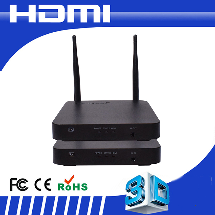High Quality Wireless Ir Transmiter+ir Receiver 100m Powerline Hdmi Extender Rj45