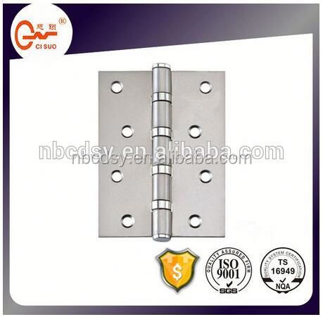 "3"" Loose Pin Non Mortise with 3 Slots Stainless Steel Furniture Cabinet Hinge"