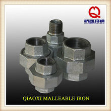 natural gas fitting union malleable iron gi pipe fitting