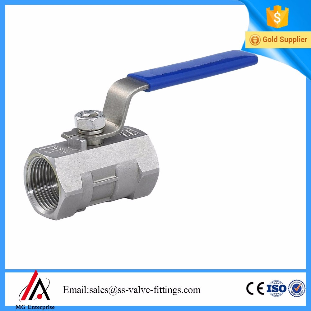 Ball Valve One Piece 1000 W.O.G stainless steel